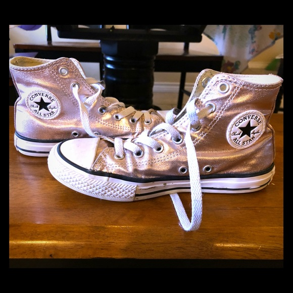 94d10ff97beca9 Converse Other - Rose Gold Converse Chuck Taylor High Tops
